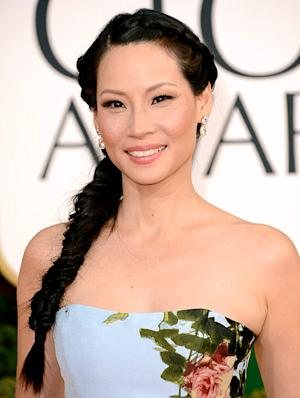Lucy Liu's Golden Globes Hairstyle: How to Get the Look