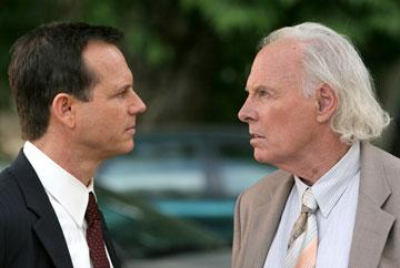 Bill Paxton and Bruce Dern HBO's 'Big Love'