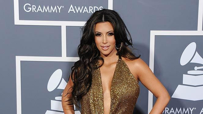 Kim Kardashian Grammy Awards