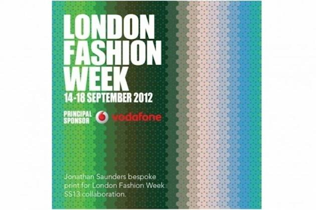 London Fashion Week bespoke visuals by Jonathan Saunders