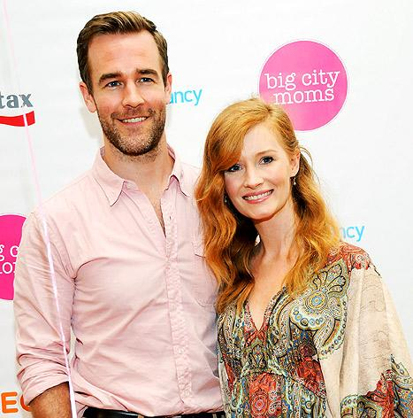 "James Van Der Beek Is ""Manly,"" ""Sexy,"" ""Sensitive,"" Says His Wife Kimberly"