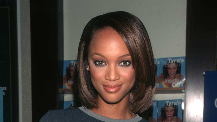 Tyra Banks Book Signing