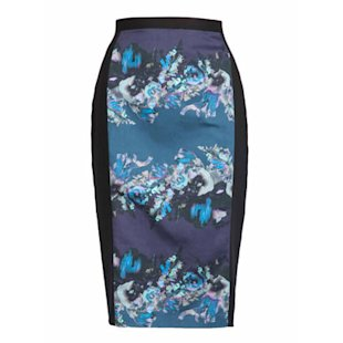 Almari Pencil Skirt: Oriental Influence: Fashion Trend