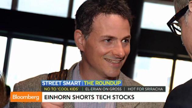 Is Einhorn Right About Tech Stocks?