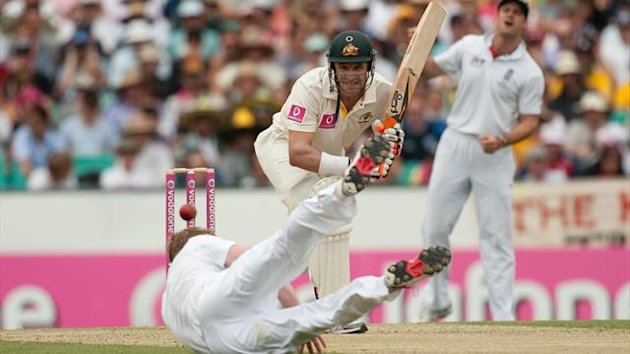 Michael Hussey brought the curtain down on his seven-year Test career in Sydney