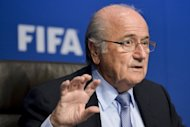 FIFA president Sepp Blatter gestures during a press conference at the headquarters of the Football's world governing body in Zurich. Blatter announced that world football's governing body has adopted a new code of ethics in the wake of a series of damaging corruption scandals