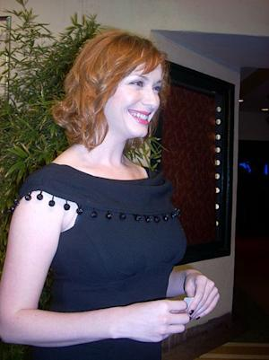 Christina Hendricks is one of the latest victims of phone hacking.