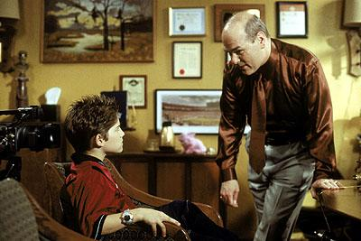Alex D. Linz and Larry Miller in Disney's Max Keeble's Big Move