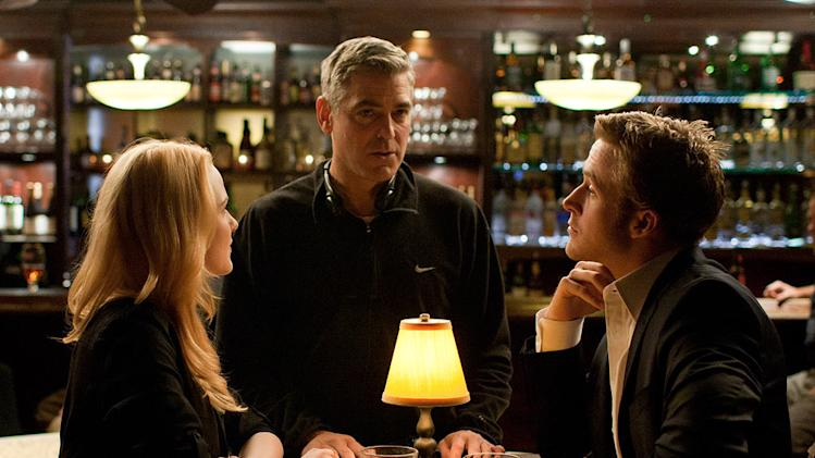 The Ides of March 2011 Columbia Pictures Evan Rachel Wood George Clooney Ryan Gosling