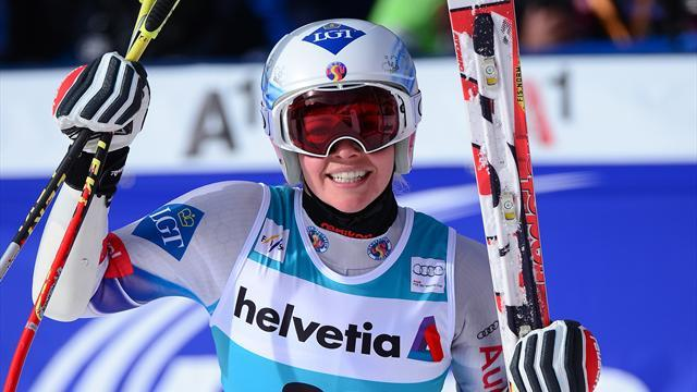 Alpine Skiing - Olympic champion mother spurs Weirather to victory