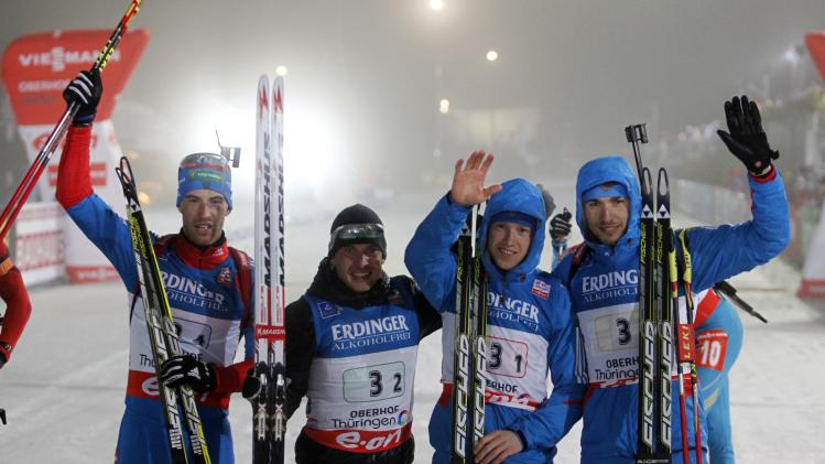 FIS Nordic World Cup - Biathlon - Men's Relay