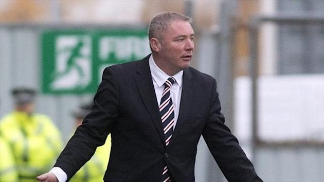 Ally McCoist wants to end 2013 in style