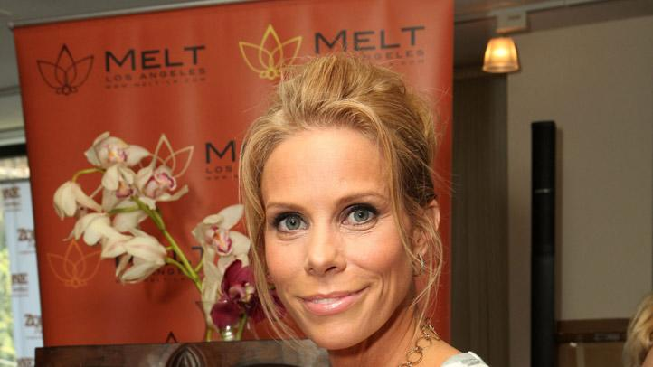 Cheryl Hines attends Kari Feinstein Primetime Emmy Awards Style Lounge at the Mondrian Los Angeles on September 15, 2011 in West Hollywood, California.