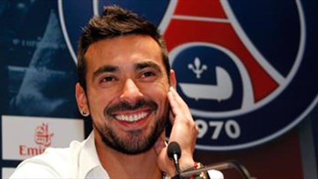 Serie A - Lavezzi surprised by Verratti's class