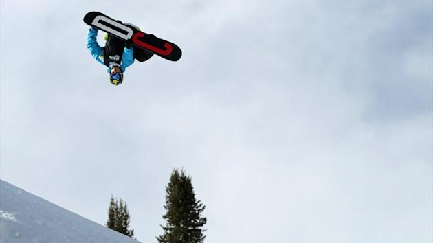 Torstein Horgmo of Norway spins inverted (AFP)
