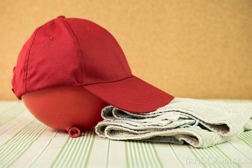 the best way to clean a baseball cap shine from yahoo canada