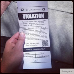 Hacking Content Marketing: How a Parking Ticket Turned into 40,000 Customers image hacking content marketing parking violation