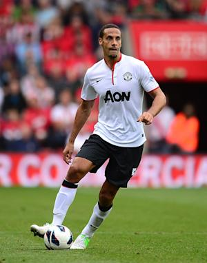 Rio Ferdinand's team-mates have praised his strong form