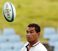 "File photo of Auckland Blues coach Pat Lam. New Zealand rugby chiefs on Thursday condemned ""lowlife"" racial abuse aimed at Lam after the team's worst-ever start to a Super Rugby season"