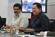 Since Hugo Chavez (right) headed to Cuba on December 10 for a fourth round of surgery since he was diagnosed with cancer in 2011, Nicolas Maduro (left) has worked on honing his skills as a higher-profile leader in his own right in this OPEC member sitting atop the world's largest proven oil reserves