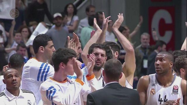 Euroleague playoffs: Wins for Barca and Real