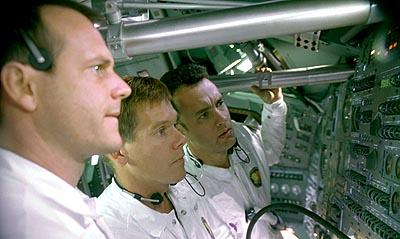 Bill Paxton , Kevin Bacon and Tom Hanks in Universal's Apollo 13
