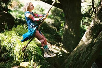 AnnaSophia Robb in Walt Disney Pictures' Bridge to Terabithia