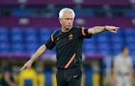 Bert van Marwijk, pictured on June 12, has stepped down as Netherlands coach after his team's first round elimination from the European football championships, the Dutch Football Federation (KNVB) announced on Wednesday