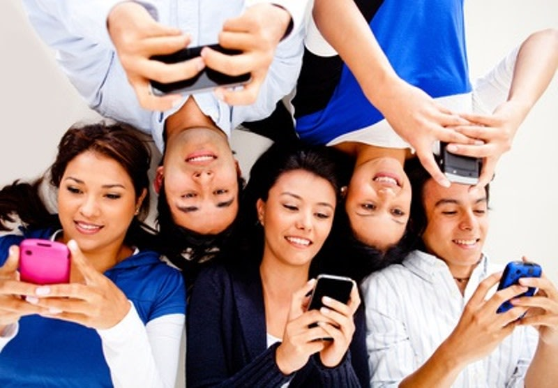 Image result for young smartphone users