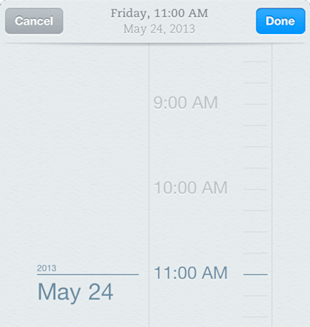 Evernote Reminders Now Available on Android, iOS, Mac and Web image reminders iphone date2