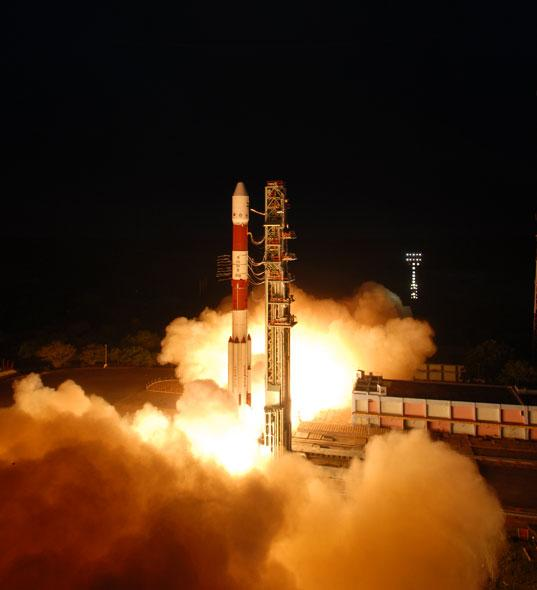 ISRO launches new spy satellite RISAT-1