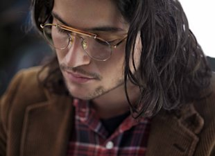 Hot New Face Alert! Dakota Johnson and Thomas McDonell for Oliver Peoples