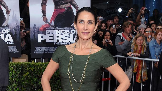 Prince of Persia Sands of Time LA Premiere 2010 Melina Kanakaredes