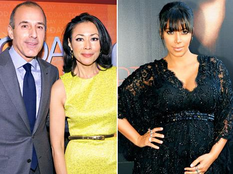"Matt Lauer, Ann Curry Today Show Fallout Was ""Personal,"" Kim Kardashian Talks Baby Names: Top 5 Stories of Today"