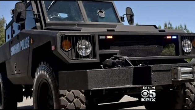 Reacting to the outcry following the protests in Ferguson Missouri, the San Jose Police Dept will return an armored vehicle that was a gift from the U.S. military.
