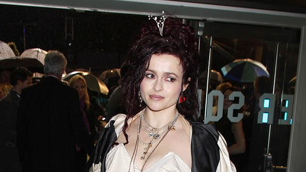 Alice in Wonderland UK Premiere 2010 Helena Bonham Carter