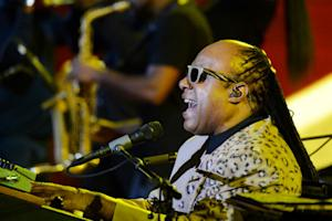 Stevie Wonder Brings Positive Vibes to Central Park