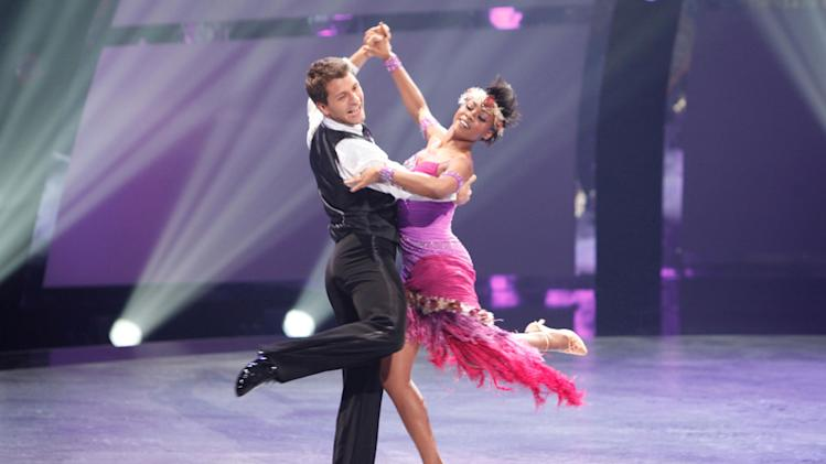 "All-Star dancer Pasha Kovalev and Sasha Mallory perform a Quickstep routine to ""Puttin' On The Ritz"" choreographed by Jonathan Roberts on ""So You Think You Can Dance."""