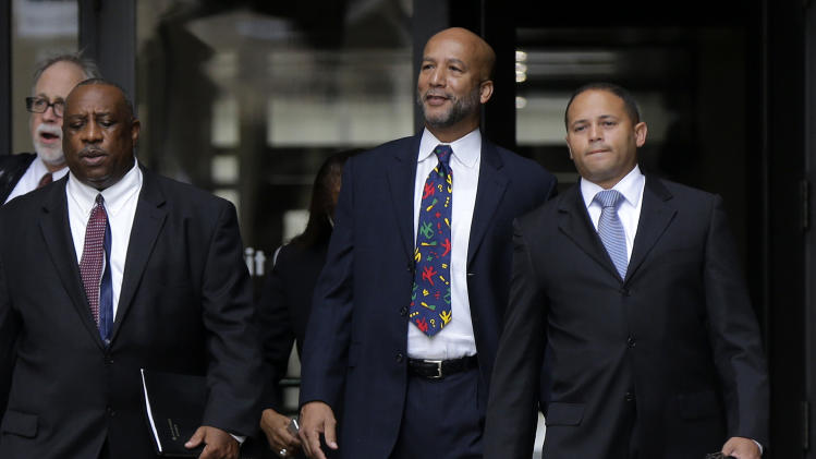 court after being sentenced in New Orleans, Wednesday, July 9, 2014