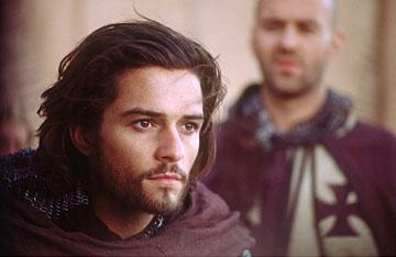 Orlando Bloom as Balian in 20th Century Fox's Kingdom of Heaven