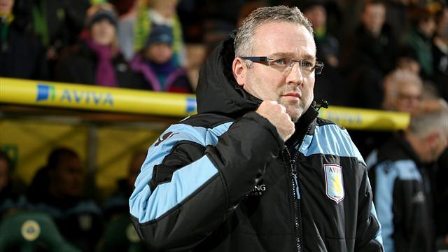 Football - Lambert humble after Villa rout