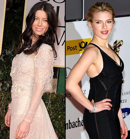 Jessica Biel Joins Scarlett Johansson in Making of Psycho Film