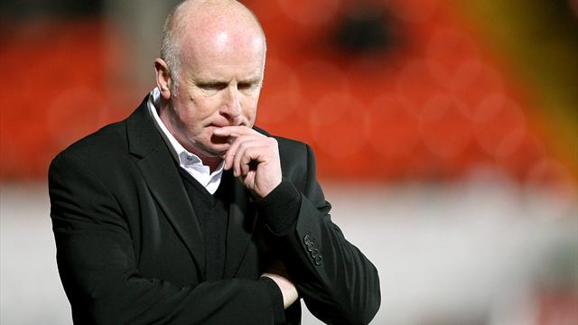 Scottish Football - Houston leaves Dundee United