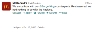 The Bad News Is Your Twitter Account Was Hacked, The Good News Is Your Twitter Account Was Hacked: 5 Lessons Learned From Burger King image burger king23