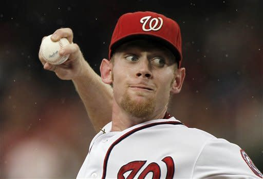 Strasburg leads Nationals to 4-1 win over Braves