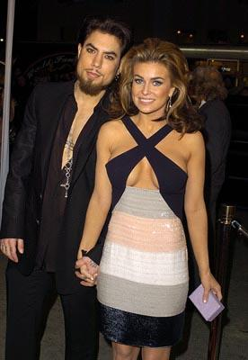 Dave Navarro and Carmen Electra at the LA premiere of Warner Bros.' Starsky & Hutch