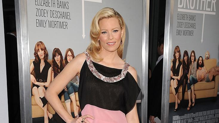 Our Idiot brother LA premiere 2011 Elizabeth Banks
