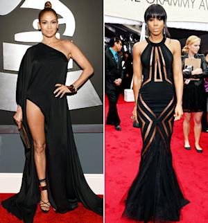 Grammy Awards 2013 Biggest Dress Code Violators: Jennifer Lopez, Kelly Rowland, Rihanna and More!