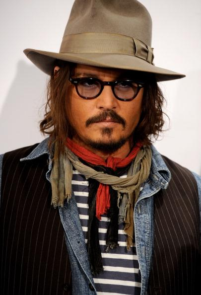Johnny Depp at The Tourist press tour in Madrid, December 2010