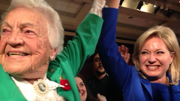 Bonnie Crombie takes over for Hazel McCallion in Mississauga, Susan Fennell out in Brampton